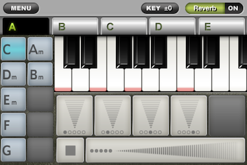 ToyPiano Screenshot ChordPlay