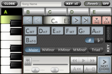 ToyPiano Screenshot SongEdit Key